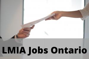 LMIA Jobs Ontario
